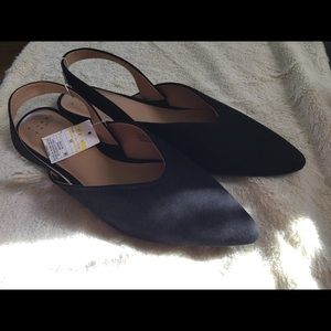 a new day Shoes - A New Day Shoes | Women's Pam V Sling Back Mules